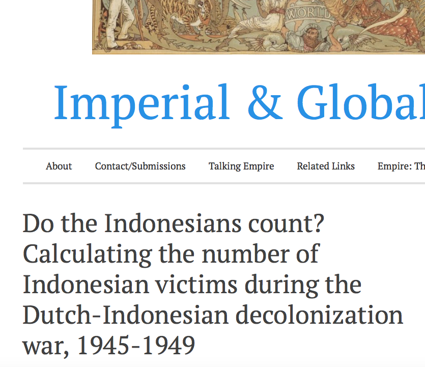 dutch decolonization of indonesia essay The effects of world war ii on the effects of world war ii on the decolonization of wave of nationalism in indonesia the dutch did not find this.