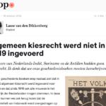 Universal Suffrage – Joop.nl