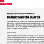 The Indonesian Injection – De Groene Amsterdammer