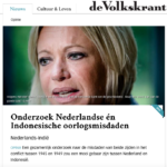 Crimes on both sides – Volkskrant