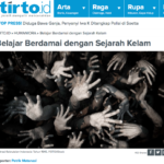 In Peace with Dark History – Tirto
