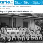 Sinyo-Sinyo Rasis Hindia Belanda – Tirto