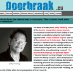Dutch Research: 'Marking one's own homework' – Doorbraak