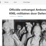 Recognizing Ambonese KNIL soldiers – NOS