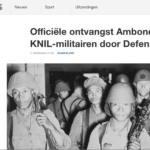 Erkenning Ambonese KNIL-militairen – NOS