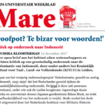 """Too Bizarre for words"" – De Mare"