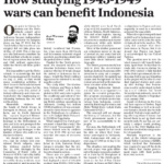 How studying 1945-1949 wars can benefit Indonesia – The Jakarta Post