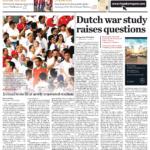Dutch War Study Raises questions – Jakarta Post