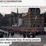 Dutch Memorial Day: Erasing people after death – The Conversation