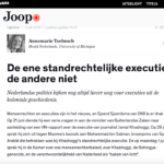 Not All Summary Executions Are Created Equal – Joop.nl