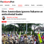 How Amsterdam Ignores Sukarno As Anticolonial Leader – The Jakarta Post
