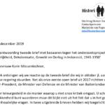 Pattipilohy en Pondaag reageren op brief BuZa