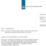 Jawaban Pemerintah Belanda atas Surat Kedua Dari Pondaag dan Pattipilohy
