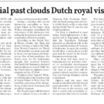 Unresolved colonial past clouds Dutch royal visit – the Jakarta Post
