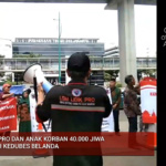 Indonesian relatives protest against Dutch Royal State Visit – Jakarta