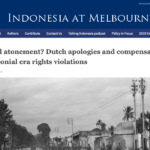 Dutch apologies and compensation – University of Melbourne