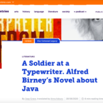Alfred Birney's Novel about Java – Review The Low Countries