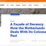 How the Netherlands Deals With Its Colonial Past – The Low Countries