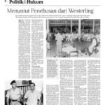 "Filing Lawsuits Against Westerling's ""Sins"" – Kompas"