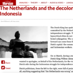 The Netherlands and the decolonisation of Indonesia – Marxist.com