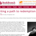 Writing a path to redemption – By Alfred Birney – Book Brunch