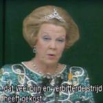 TV-report: State Visit Queen Beatrix