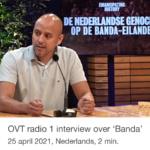 Interview over de publicatie van 'Banda' – Radio 1 OVT