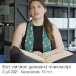 Een verloren gewaand manuscript – Scheepvaartmuseum