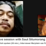 Instagram live session with Saut Situmorang