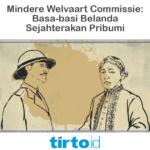 Mindere Welvaart Commissie – Tirto